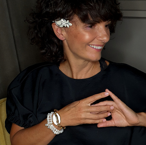 Bridal hairpin. Hair accessory