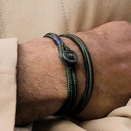 Business casual. Cuff bracelet for men
