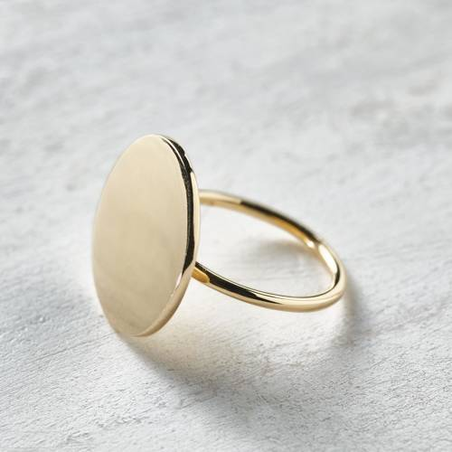 I like it different. Small ring
