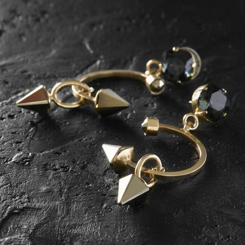 Not feeling sweet today. Drop earrings with studs
