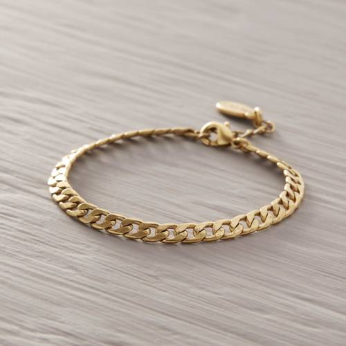 Sometimes you just know. Golden chain bracelet