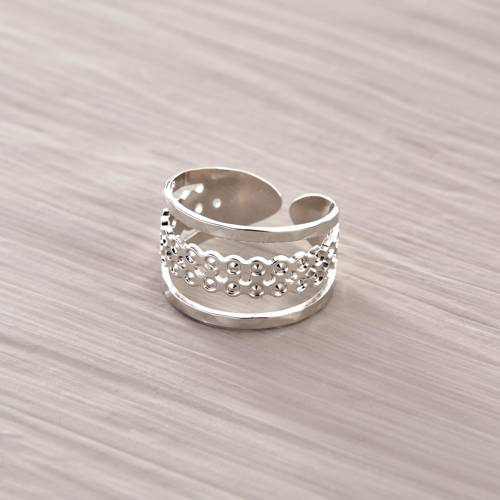Too good to be true. Simple silver ring