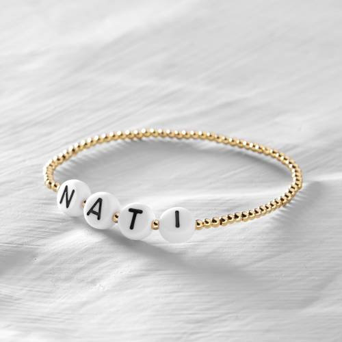 What's my name?. Personalized bracelet