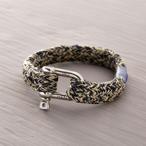 With the wind. Male bracelet
